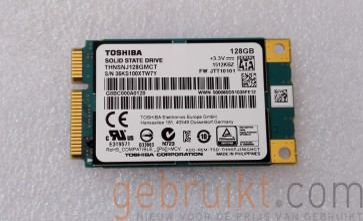 Toshiba 128GB MSata SSD THNSNJ128GMCT