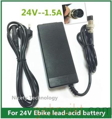 24 v 1.5A Elektrische Scooter  voeding