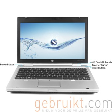 HP Elitebook 2560P i7 4GB 120 SSD 12.5 inch