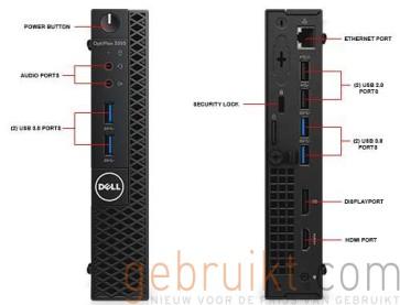 Dell Optiplex 3050 | i3-7100T | 4GB | 500GB