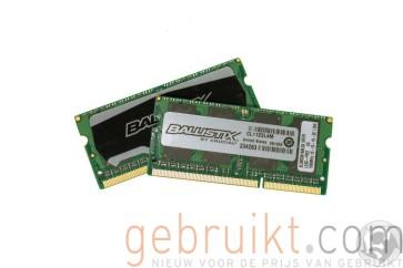 BLS2C4G3N18AES4CEU Crucial Balistix 8GB DDR3 Laptop Geheugen 1866MHz CL10