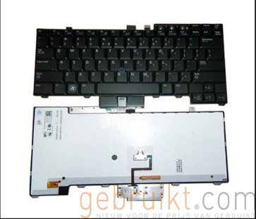 Dell Latitude E6400, E6500, E5400, E5500 Precision M2400, M4400, M4500 Laptop Keyboard 0M9B83 0WX4JF 0HT514