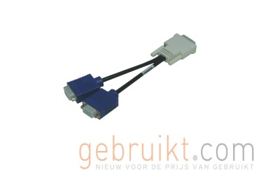 HP DMS-59 to dual VGA cable (Y-cable) PN: 338285-006 DMS59