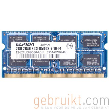 2GB DDR3-1066 PC3-8500 Elpida EBJ21UE8BDS0-AE-F