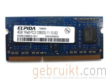 8GB ( 2x 4)4GB SODIMM DDR3-12800 1600mhz micron