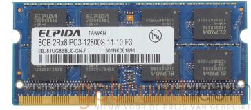 8GB PC3-12800 DDR3-1600MHz   sodimm