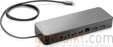 HP USB-C Dock G4 USB 3.0 Type-C Black 3FF69AA