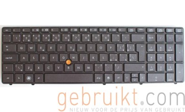 HP Compaq HP 8560w Laptop toetsenbord 65268-a41-001 azerty