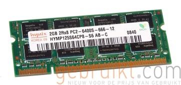 HYMP125S64CP8-S6 AB  4GB (2X2GB) SODIMM PC2-6400 DDR2-800MHz Hynix