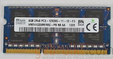 16Gb (2x8)GB PC3-12800 DDR3-1600MHz   sodimm