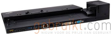 Lenovo ThinkPad pro Dock - Port replicator - ThinkPad L440; L450; T440; T440p (2 cores); T440s; T450s; T540p; T550; W550s; X240; X250 (40A00090US)