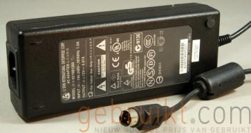 LI SHIN 12V  6,6A 80W 4-Pin  DIN Adapter