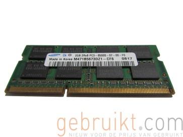 2gb 2Rx8 DDr3 8500 Samsung PN:M471B5673DZ1-CF8