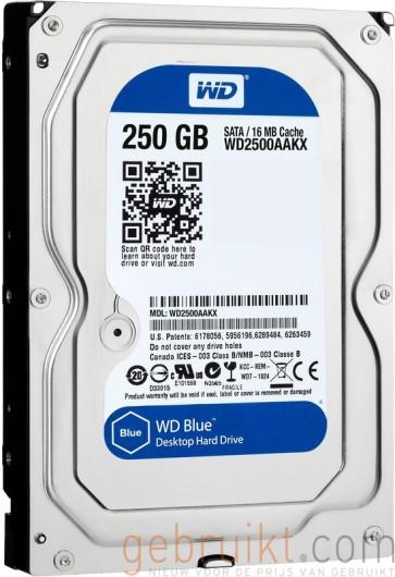 250GB 3.5 inhc sata WD Blue WD2500AAKX