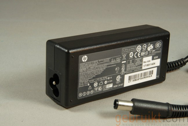HP 185V 35A 65W Adapter Center Pin