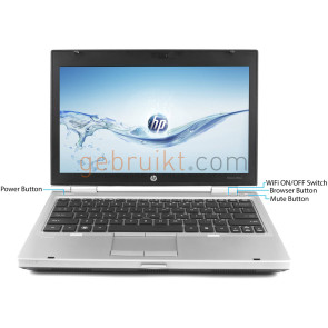 HP Elitebook 2570P i5 4GB 120 SSD 12.5 inch