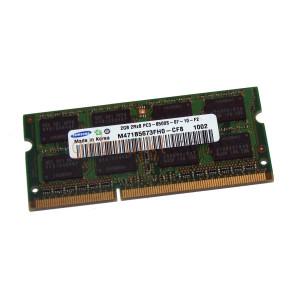 2GB SODIMM DDR3-8500 1066 mhz samsung M471B5673FH0-CF8