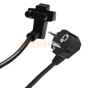 Dell 3-prong flat power cord