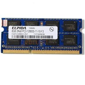 8GB SODIMM DDR3-1600 12800s elpida