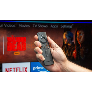 Amazon Fire TV Stick 4K (Alexa Voice + afst.bediening)