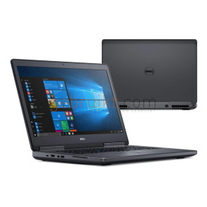 Dell Precision 7720 i7-6820HQ 16GB 256gb SSD  17inch