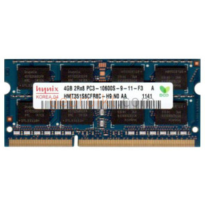 8GB ( 2x 4)4GB SODIMM DDR3-1333 10600s Hynix HMT351S6BFR8C-H9N0