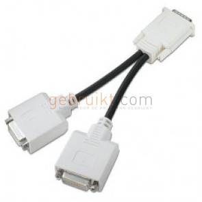 HP DMS-59 to dual DVI-I cable (Y-cable) PN: 338285-009 DMS59