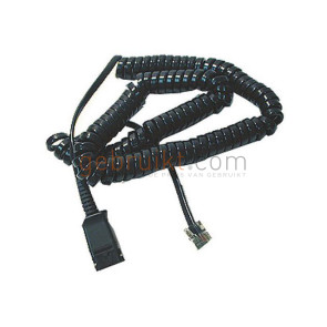 Telefoonkabel Headset  Kabel  26716-01