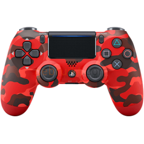 playstation ps4 sony  dualshock v2 red camouflage