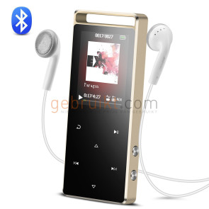 Touch Control Panel, Metal 8GB MP3 Player, Portable Music Player