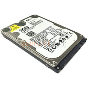 320GB 2.5 inch  SATA  schijf Western